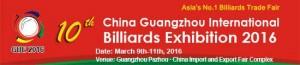 10th China Billiards
